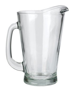 Anchor Hocking Beer Wagon Pitcher 55 Oz Cryst (1, A)