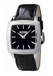 Moschino - MW0108 - Montre Homme - Quartz - Analogique - Bracelet Cuir Noir