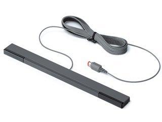 Nintendo Wii Sensor Bar Black Wired Official RVL-014 New (Sensor Bar Wii compare prices)