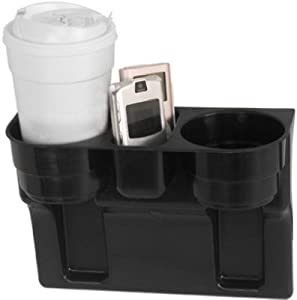 Custom Accessories 91125 Wedge Cup Holder, Black Auto, Conveniences- Trays & Bags