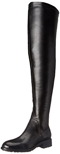 Sam EdelmanRemi - Stivaletti sopra al ginocchio donna , Nero (Black (Black New Dakota Leather)), 37.5
