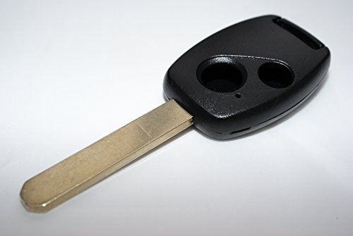 Chequers Motorstore Schlüsselbehälter für Fernbedienungsschlüssel für Honda Civic CR-V Accord / Jazz Hrv Stream 2 Tasten, Schlüsselanhänger Tasche Case