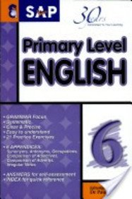SAP Primary Level English Book 6