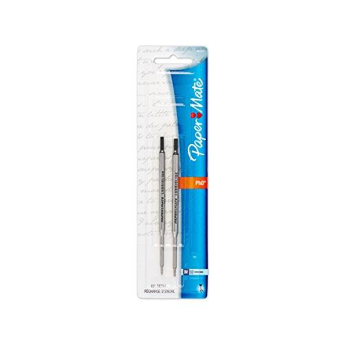 Refill for Aspire, PhD, PhD Ultra Ballpoint, Medium, Black Ink, 2/Pack