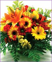 Joy of Flowers Basket