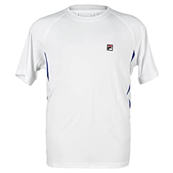 Buy Fila Boys Crestable Game Crew Polyester T-Shirt by Fila