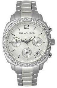 Michael Kors MK5178 - Reloj de pulsera mujer, plata, color plateado
