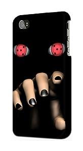 S0299 Uchiha Itachi Sharingan Case Cover for Iphone 5 5s