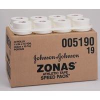 J & J Zonas Porous Athletic Tape, 2 x 15 yds, 24 cs by Johnson & Johnson