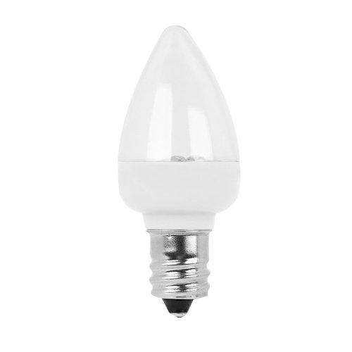 C7 Candelabra Feit Electric 2-Pack White Led Night Light 477035