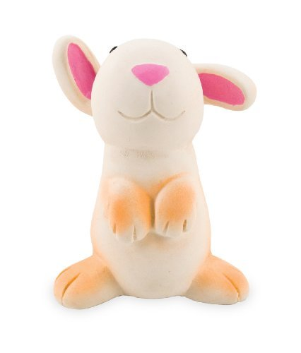 Rich Frog Li'l Sparky Rabbit Natural Rubber Toy