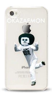 APPLE MAGIC!シリーズ iPhone4・4S専用 クリアケース オカザえもん リアルタイプ