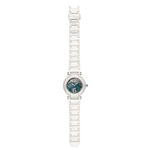 Charmex Dynasty Femme 35mm Blanc Céramique Bracelet Saphirglas Montre 6271