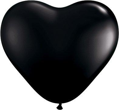 onyx-black-6-latex-hearts-qualatex-balloons-x-10-by-qualatex