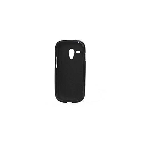 Coque Samsung i8190 Galaxy S3 Mini Silicone Glossy Noir