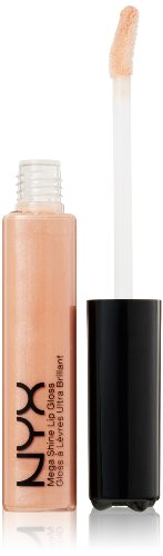 NYX Mega Shine Lip Gloss, Sugar Pie, 0.37 Ounce