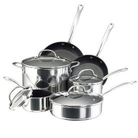 Farberware Millennium Colors Nonstick Aluminum Cookware Set