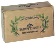 Olive Oil Soap, Papoutsanis, 250g