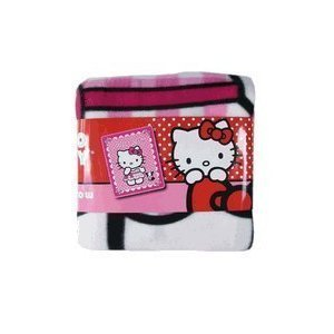 Sanrio Hello Kitty Plush Fleece Throw Twin Bed Blanket