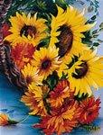 bob-ross-instructional-pack-basket-of-sunflowers