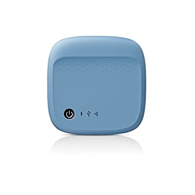 Seagate Wireless Mobile Portable Hard Drive Storage 500GB (Blue)