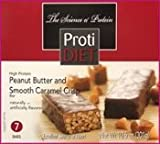 Protidiet Peanut Butter and Smooth Caramel Crisp High Protei