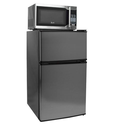 3.1 Cu. Ft. Compact Refrigerator, Freezer, and Microwave Combo (Microfridge Microwave Plate compare prices)