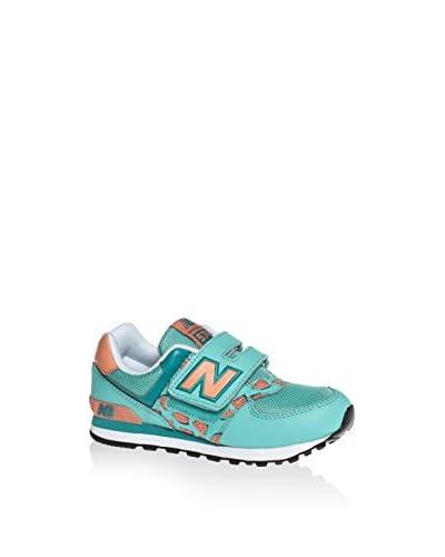 New Balance Sneaker Kv574 Tcp mint/rosa