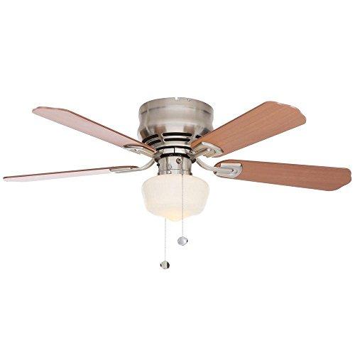Middleton 42 in. Brushed Nickel Ceiling Fan (42 In Ceiling Fan Brushed Nickel compare prices)