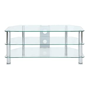 Buying Guide of  Levv Clear Glass TV Stand