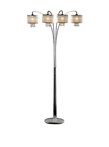 ORE International Simple Elegance Arch Lamp