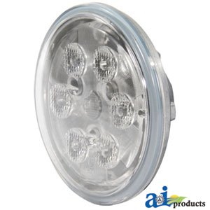 Wl2116 Sealed Beam Led Trapezoid Lamp Light 4 1/2 Inches For Tractor