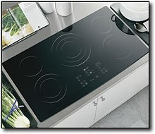 GE Profile : PP975BMBB 36 Electric Cooktop – Black  ->  GE Consumer and Industrial spans the globe as an i