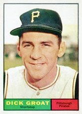 1961 Topps Regular (Baseball) Card# 1 dick groat of the Pittsburgh Pirates ExMt... by Topps