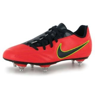 Nike Total 90 Exacto IV SG Junior Football Boots Crmsn/Obsid/Red 4 UK UK