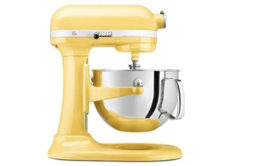 New Kitchenaid Stand Mixer 10-Speed 5-Quart Kv25Mexmy Yellow Professional Gift For Your Family front-122480