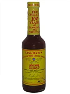 Linghams Hot Sauce With Ginger Garlic 1 X 125 Fl Oz by Lingham