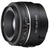 Sony Alpha SAL35F18 35mm f/1.8 A-mount Wide Angle Lens (Black)