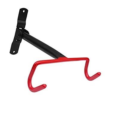Bike Stands, REDGO Adjustable Tilt Solid Steel Garage Bicycle Bike Stands Storage Rack Hooks Hanger Mount Utility Organizer Kit Shelf
