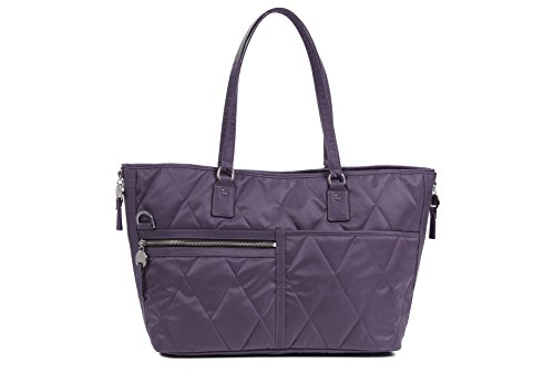 Danzo Diaper Bags Lexington, Orchid with Slate Interior