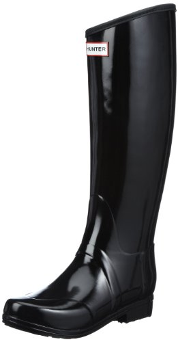 Hunter Women's Regent Wellington Black Rubber Boot 5 UK 5 F(M) UK