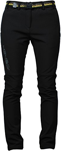 Angel-Cola-Womens-Outdoor-Hiking-Climbing-Utility-Fleece-Lined-Pants-PW5406
