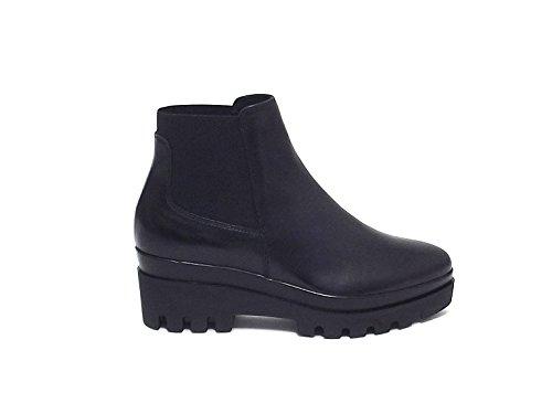 Stivale Janet sport donna, 38776, scarpa pelle nero nr 38 A6102