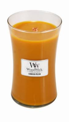 Woodwick Candle Candied Pecan Large Jar