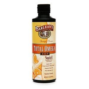 Barlean'S Organic Oils Total Omega 3-6-9 Swirl, Orange Cream 16 Fl Oz (454 G)