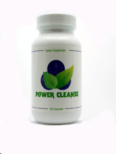 Power Cleanse - Complete Colon Cleanser and Full Body Detox Cleanse Formula. Lose up to 20 Pounds.