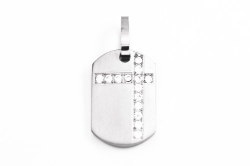 CEM Titanium Jewelry Unisex Pendants Gray PTS109