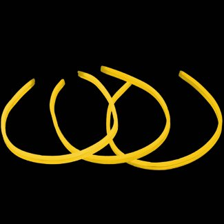22 TWISTER Lumistick Glow Light Stick Necklaces YELLOW (300 necklaces) эспандеры starfit эспандер starfit es 702 power twister черный 50 кг