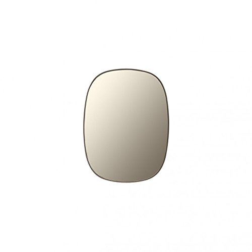 Muuto Framed Mirror - Small, Taupe / Taupe glass