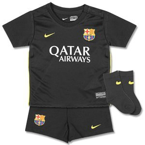 Barcelona 3rd Little Boys Kit 2013 / 2014